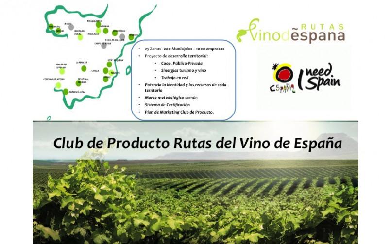 """Estudio para la Consolidación y Desarrollo de """"Rutas del Vino de España"""""""