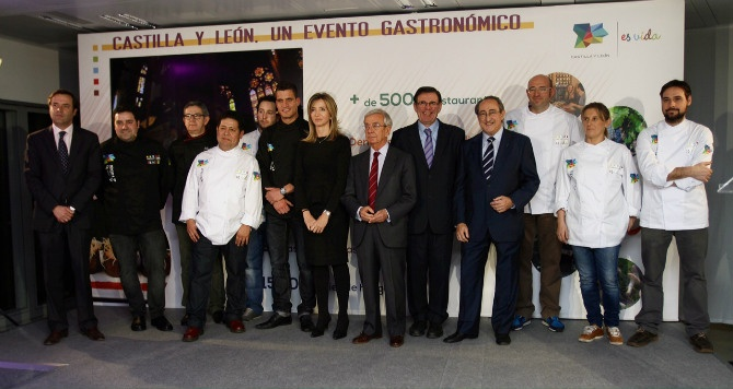 """""""Castilla y León, evento gastronómico"""" impulsa la estrategia de turismo gastronómico de la región"""