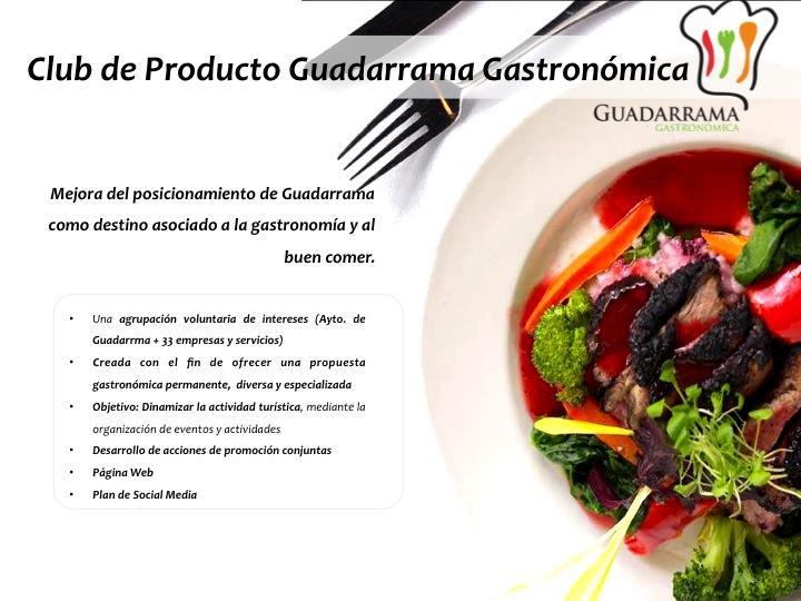 Club de Producto Guadarrama Gastronómica