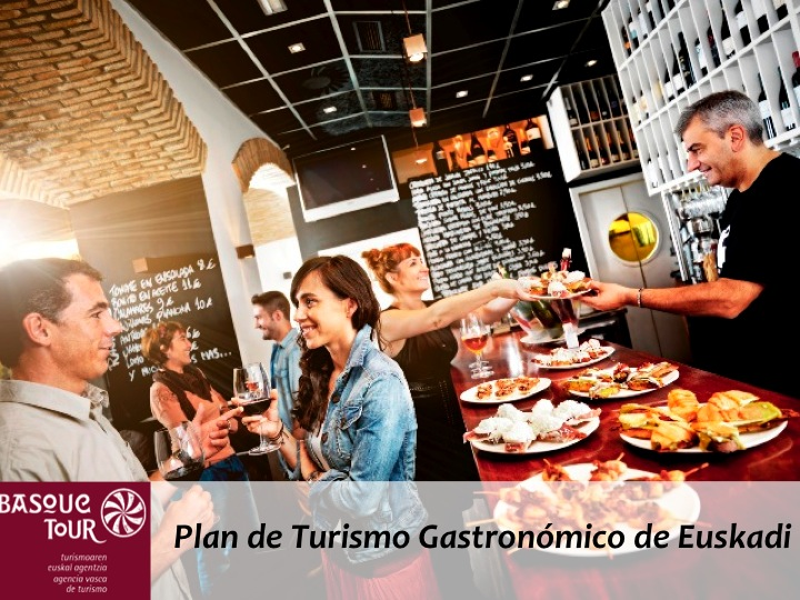 Plan de Turismo Gastronomico de Euskadi