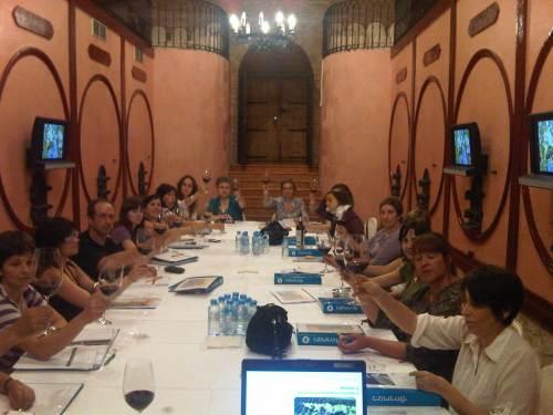Imagen de un curso de formación realizado por DINAMIZA