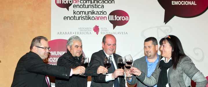 Foro de turismo enogastronómico de Rioja Alavesa – Conversaciones en torno a la comercialización
