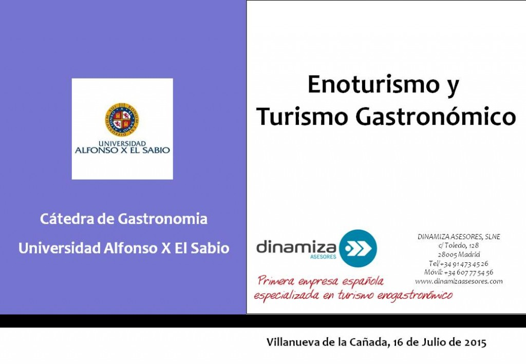 Cátedra Gastronomia UAX