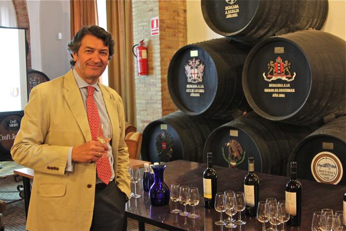 César Saldaña, Presidente de la Ruta del Vino y Brandy del Marco de Jerez
