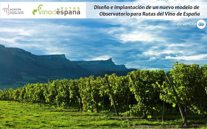 Diseño e implantación de un nuevo modelo de Observatorio para Rutas del Vino de España