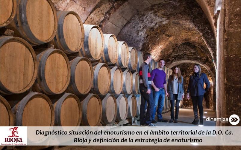 Diagnóstico situación y definición de la estrategia del enoturismo en la D.O. Ca. Rioja