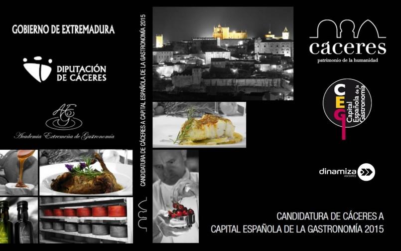 Elaboración Memoria Cáceres, Capital Española de la Gastronomía