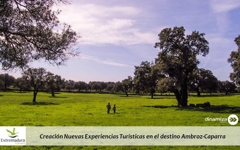 Creación Nuevas Experiencias Turísticas en el destino Ambroz-Caparra
