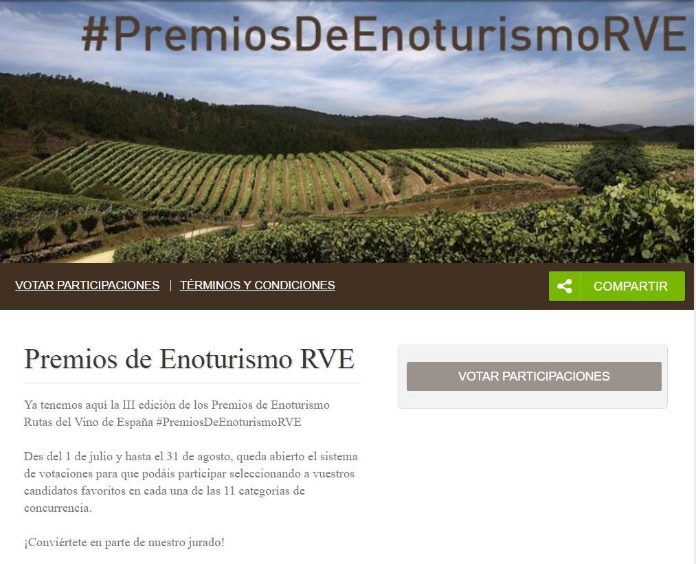 Premios de Enoturismo RVE