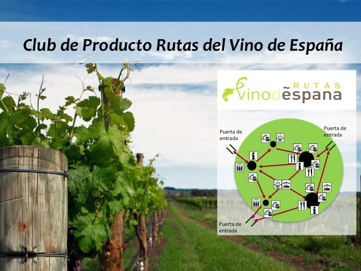 Asistencia Técnica al Club de Producto Rutas del Vino de España