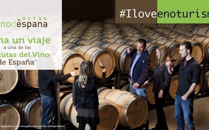 #IloveEnoturismo – La evolución del Observatorio Turístico de Rutas del Vino de España