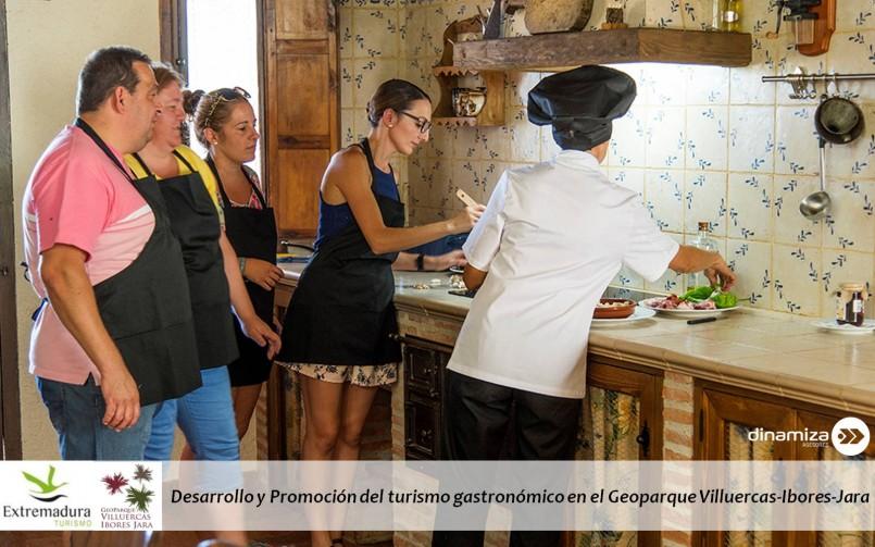 Desarrollo y Promoción del turismo gastronómico en el Geoparque Villuercas-Ibores-Jara