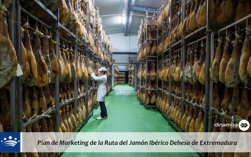 Plan de Marketing de la Ruta del Jamón Ibérico Dehesa de Extremadura